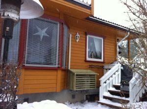 Varmepumpe installert i Tønsberg